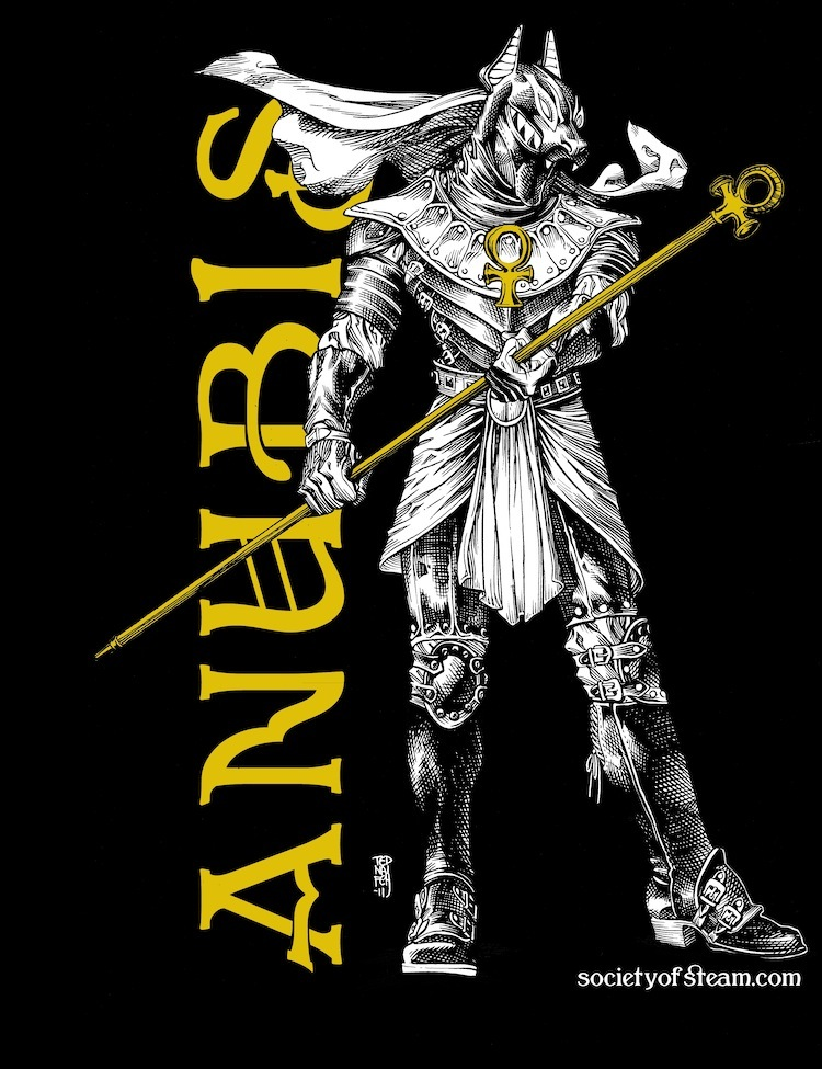 The Anubis T-Shirt (and me) Dragon*Con