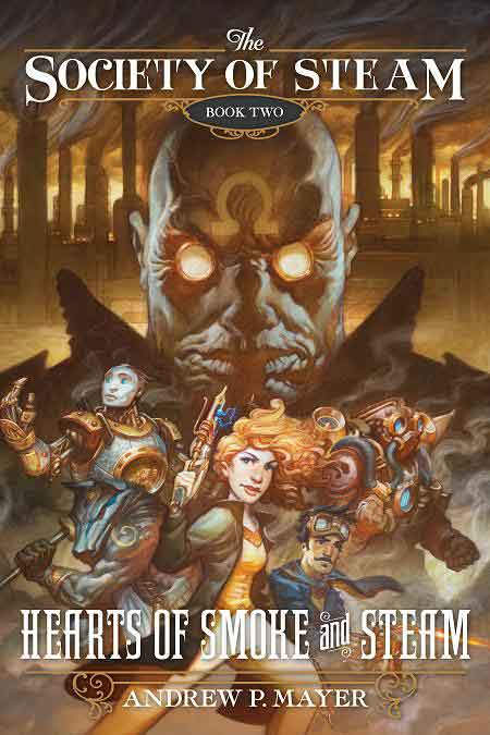 Book Two Cover & SteamCon III